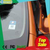 Scheda di parcheggio di frequenza ultraelevata Windowshield RFID dell'adesivo della lunga autonomia