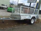 7X4 de gegalvaniseerde Aanhangwagen van de Doos voor Verkoop