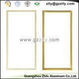 Het gouden Bouwmateriaal van het Raamkozijn van de Toebehoren van het Profiel van het Aluminium