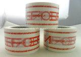Adhesivo de logotipo personalizado Borrar OPP BOPP personalizada cinta de embalaje de impresión