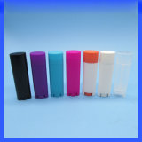 2016 Best Seller Plastic Oval Lip Balm Container Tube