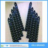 Color negro. 27 carga plástica del polvo de la tira del diámetro 6.8X11 S1jl del calibre