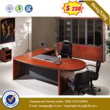Bureau exécutif de bureau de meubles de premières pattes en bois chinoises en métal (HX-ND167)