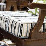 Sofà americano del cuoio genuino di disegno moderno singolo per la mobilia As823 del salone