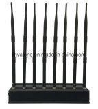 20W 8 antenne GPS/WiFi/315/emittente di disturbo del segnale di 433 rf