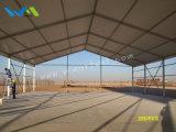 500平方メートルは絶縁された鋼板の産業テントに電流を通した
