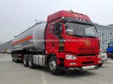 carro del tanque de 45kl Auman 45000 L resistente carro de petrolero del combustible