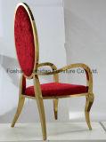 Fuzhidaoのクロムステンレス鋼の椅子の種類および女王の結婚式の椅子