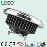 15W indicatore luminoso unico del riflettore AR111 LED del CREE di brevetto 3dcob (LS-S618-G53-BW/BWW)