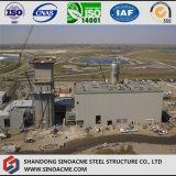 Structure métallique industrielle lourde pour la centrale de barrage
