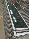 Colore di legno di alluminio di trasferimento del grano del portello scorrevole della doppia pista