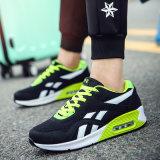 Schoenen van de Sporten van de Manier Pu van de Tennisschoen van de Mensen van het Kussen van de lucht de Lopende Rubber Openlucht