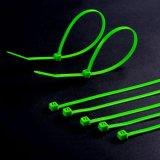 100 paquets fermeture éclair de 8 pouces attachent le noir en nylon de serre-câble 50 livres de temps UV de câble de fil résistant