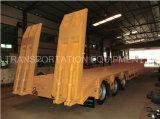 3axle Lowbed Semi-remorque 13.8m 50ton