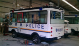 30X 2.0MP 100m Nachtsicht-Polizeiwagen HD Überwachungskamera IP-IR PTZ