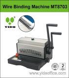 A3 Bindende Machine van de Draad van het Ontwerp van de Grootte de Op zwaar werk berekende (MT8703)