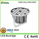 luz negra/gris de 500W del LED de inundación con la viruta del CREE 5 años de garantía