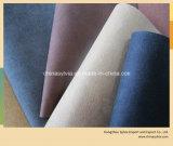 Sapata gravada que alinha o couro do saco de couro