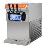 Tres máquinas del helado de la tapa de vector del favor