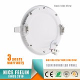 Luz del panel redonda caliente de la venta 15W LED LED Ultra-Delgado Downlight