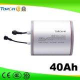 fabricante solar da bateria do Li-íon da luz de rua de 11.1V 40ah