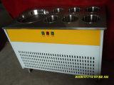 Poêle simple et plat avec machine à glaçage à 4 barils