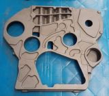 Tampa Ductile cinzenta da caixa de engrenagem do ferro para a máquina escavadora