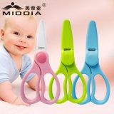 Sem tesouras de cozinha de ferrugem Mijas minúsculas Ceramic Baby Safe Food Scissors