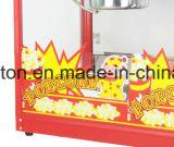 Générateur électrique commercial mode automatique du maïs éclaté 2016, machine de maïs éclaté avec deux bacs d'acier inoxydable (ET-POP6A-2)