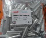 Conetor de cabo de cobre Uninsulated do furo do duelo