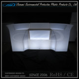 LLDPE Materialplastic Modern Outdoor LED Sofa