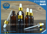 5ml----frasco de perfume de vidro do frasco do conta-gotas de 100ml Brown