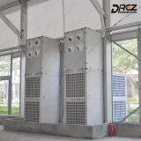 Fußboden, der Aircon industrielle Klimaanlage für im Freienzelt Wechselstrom steht