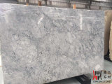 Естественные каменные белые серые слябы Прага белые мраморный для Countertop мозаики настила