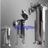 Flüssigkeit-und Luft-Filtration 304/316 Edelstahl-Filtergehäuse