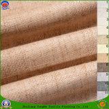 Matéria têxtil Home tela impermeável tecida da cortina do escurecimento do franco da tela de linho do poliéster