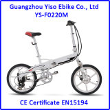 Bicicletas plegables del motor sin cepillo de 20 pulgadas 36V250W mini importadas de China