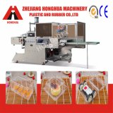 Machine en plastique de Contaiers Thermoforming avec la case pour le matériau d'animal familier (HSC-510570C)