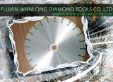 Этап вырезывания края диаманта для камня гранита