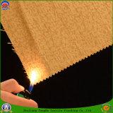 Textile à la maison enduisant le tissu imperméable à l'eau de rideau en polyester tissé par franc
