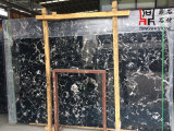 カウンタートップのための自然な石造りの高品質の建築材料の黒の大理石の平板の黒Portoro