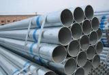 Tubulação de aço galvanizada mergulhada quente de Dn15X1.4mm para a fonte de água