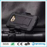 Rüstungs-hybrider Shockproof Riemen-Klipp-Pistolenhalfter-Kasten für Samsung-Galaxie-Telefon