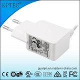 Adaptador de la CA con la eficacia 12V 0.4A del nivel 6 del certificado del GS del Ce