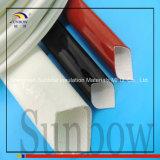 Fibra de vidro revestida do silicone de alta temperatura de Sunbow que Sleeving 7.0kv