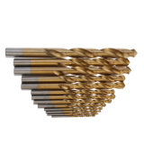 Morceaux de foret droits de partie lisse de morceaux de foret de torsion de HSS DIN338 6542