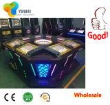 Торговый автомат рулетки колеса казина Royale 8 игроков видео-