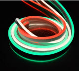 mini LED indicatore luminoso al neon di 24V con il cappotto colorante del PVC (10*24mm)