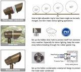 Projector ajustável do diodo emissor de luz do ângulo de feixe do controle RGBW 12V IP65 de Bluetooth