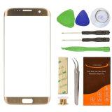 Объектив золота экрана LCD TFT мобильного телефона замены объектива цены верхнего качества дешевый для края Samsung S7